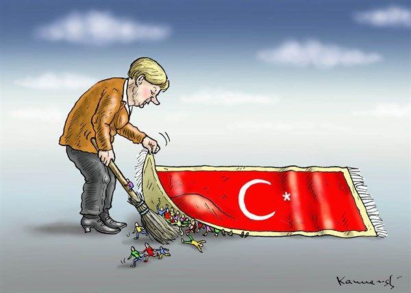 Marian Kemensky - Slovakia - REFUGEES OF MRS MERKEL - English - REFUGEES OF MRS MERKEL,Turkey,Syria,germany,EU crisis