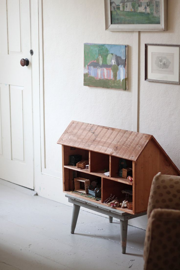 Solvi's room by Justine Hand, doll house
