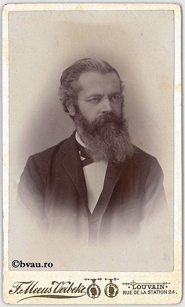 """F. Terby, Sauvain, [1878]. Imagine din colecțiile Bibliotecii """"V.A. Urechia"""" Galați."""