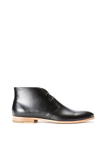 Caledon Leather Desert Boot