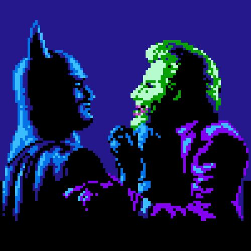 Cool Animated GIF Mashups Of Popular Movies And Old School Video Games - Batman