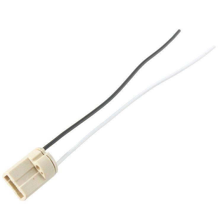 Lamp Base G9 5A Socket Cable Ceramic Connector LED Halogen Light Lamp Bulb Holder Base Adapter Converter 110-220V