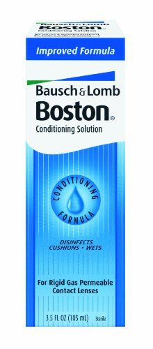 #manythings Effective lens cleaning solution for gas permeable (GP) and hard contact lenses.  #Boston Conditioning Solution contains a wetting agent that coats t...