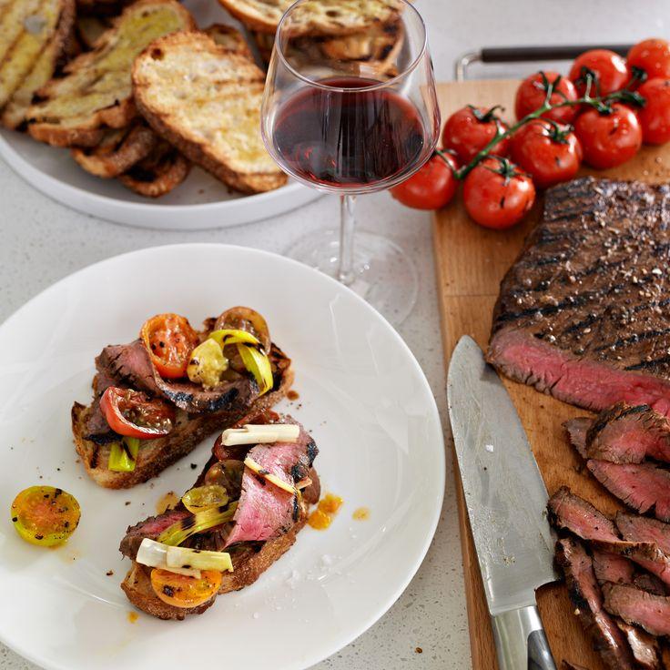 Balsamic Marinated Flank Steak | Food & Wine