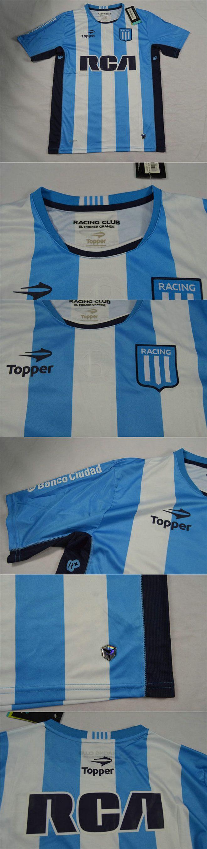 Cheap Soccer Jerseys Argentine Primera División Racing Club de Avellaneda Home Jersey Shirt 2016-2017 hotclubjersey.com