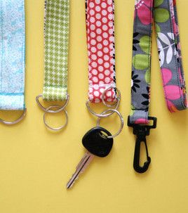 DIY Lanyard and Key Chain Wristlet for whistle