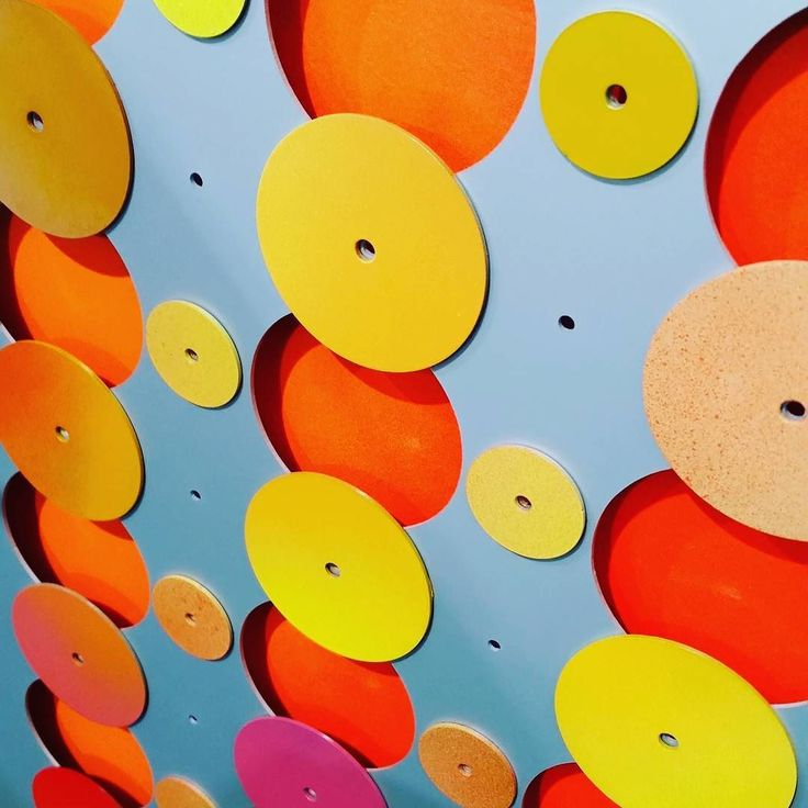 #sneakpeek at our next #publicart install based on the firey #summer #skies in the #DarlingRanges in collaboration with students of #ByfordSecondaryCollege . . . . . . . #students #art #painting #aluminium #westernaustralia  #abstract #colour #color #disks