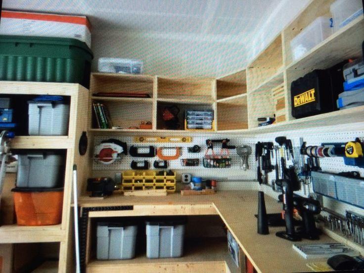 445 Best Storage Images On Pinterest | Garage Storage, Garage Shop And  Garage Ideas