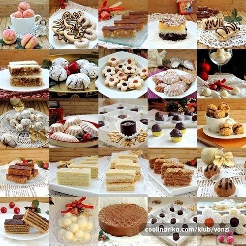 Svi moji Božićni kolači 23 vrste...