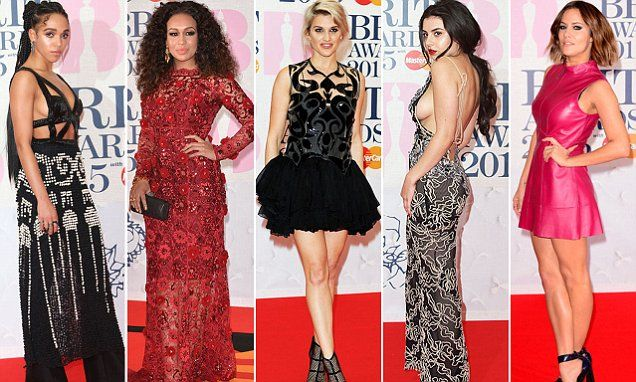 Eeek! And the worst-dressed celebs at the BRITs are...