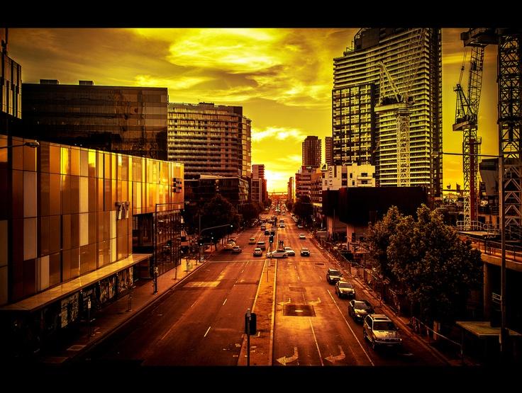 { Across the City }