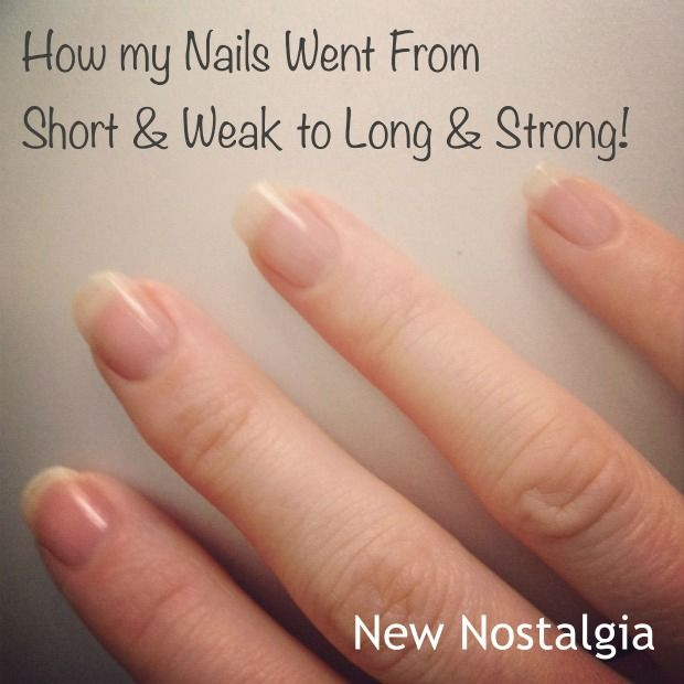 Long nails in three weeks thanks to the supplement Biotin #biotin #nails