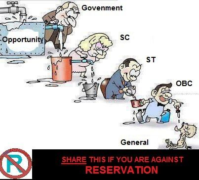 dr puneet agrawal's world of Jokes: Cartoons on Reservation in India...................