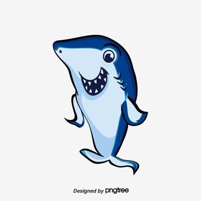 Blue Shark Baby Shark Clipart Blue Shark Png Transparent Clipart Image And Psd File For Free Download Blue Shark Shark Cartoons Png
