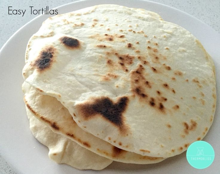 One of the very first recipes I ever made in my Thermomix were these super easy homemade Tortillas. I used to make them pretty regularly in my pre Thermomix days, but it's one of those recipes which has been made so much easier.