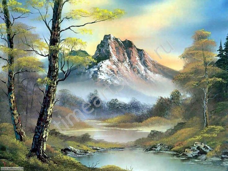 Красота горного пейзажа, картины раскраски по номерам, своими руками, размер 40*50см, цена 750 руб.