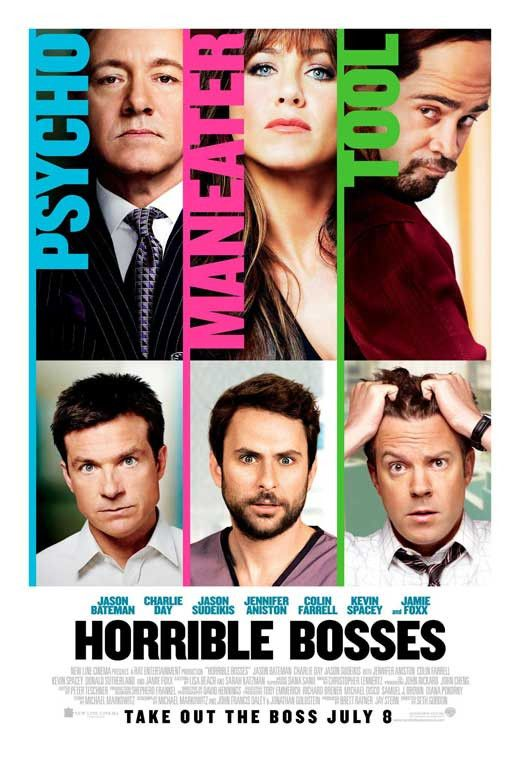 Horrible Bosses 11x17 Movie Poster (2011)