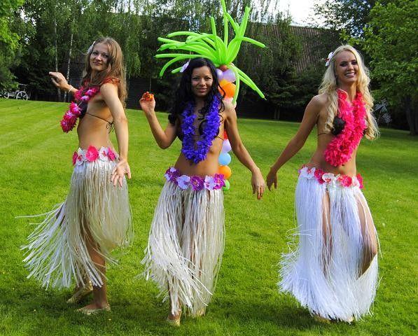 Детская гавайская вечеринка (подготовка к празднику)