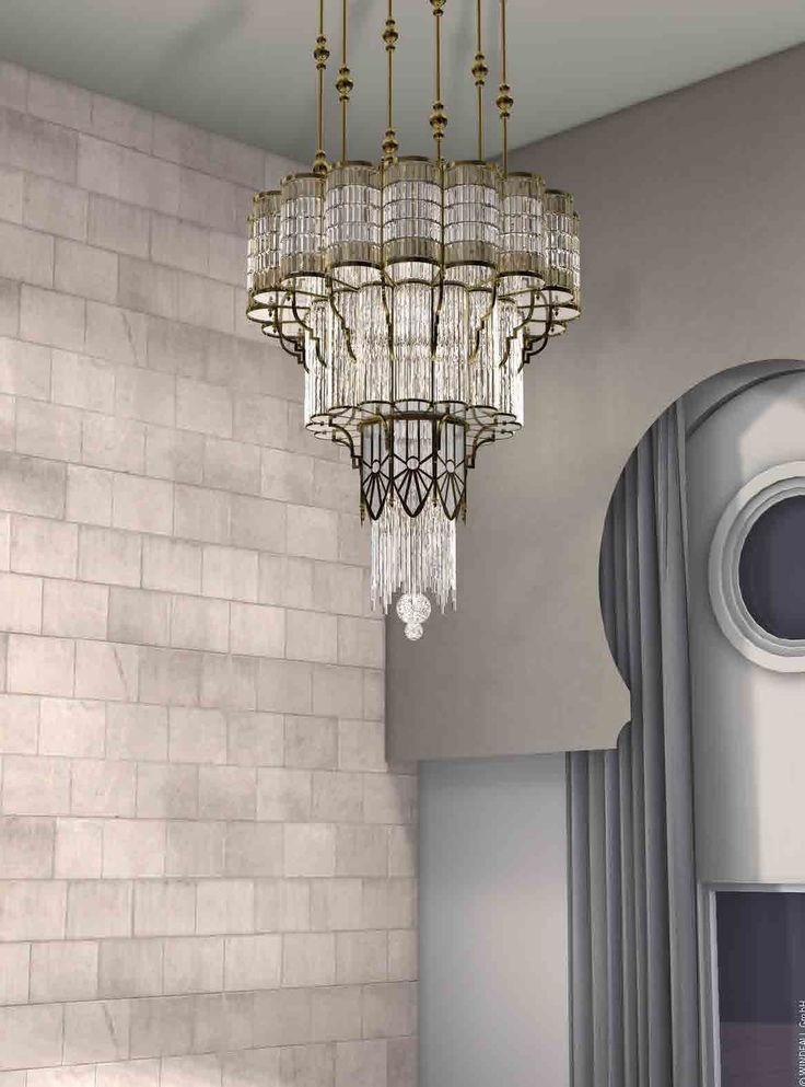 New Windfall Contemporary Crystal Lighting