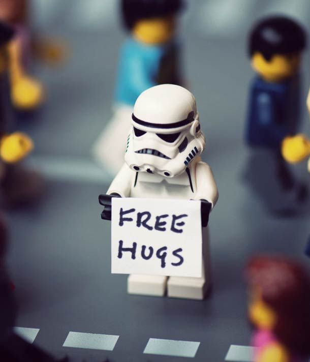 28 PHOTOGRAPHIES DE LEGO STAR WARS PAR MIKE STIMPSON