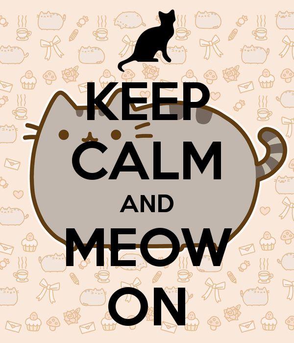 #Cartoons - Keep Calm & Meow On