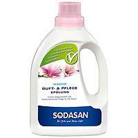 Duft- & Pflegespülung von Sodasan, vegan, enzymfrei - Magnoliaduft 750ml