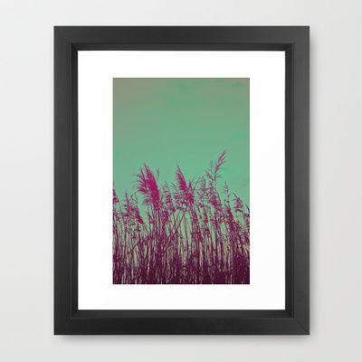 01 Framed Art Print by Zeppelin - $31.00