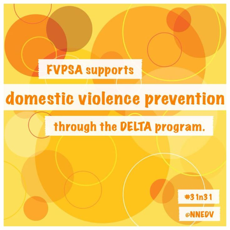 24. #FVPSA supports domestic violence prevention through the DELTA CDC program. The program has helped communities increase their prevention activities 10 fold.  #31n31 #DVAM