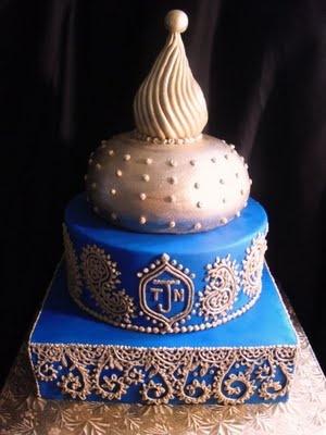 Morrocan Inspired Wedding Cake! #mariage #Marocain #Morrocan #wedding