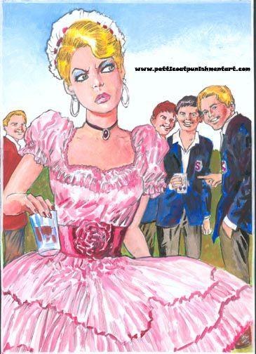 The new sissy boy in school x   Toon forced fem