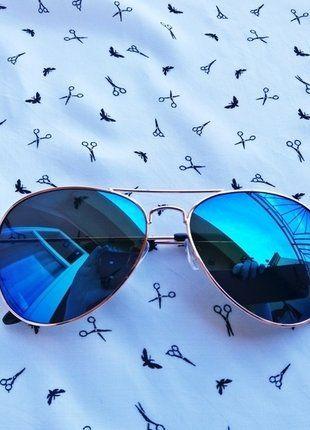 Kup mój przedmiot na #vintedpl http://www.vinted.pl/akcesoria/okulary-przeciwsloneczne/18329889-okulary-pilotki-lustrzanki-idealne-na-lato