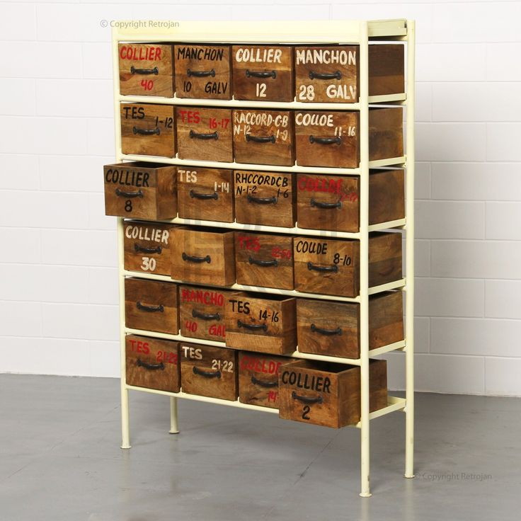 Jorma Industrial Chest of Drawers | RP: $699.00