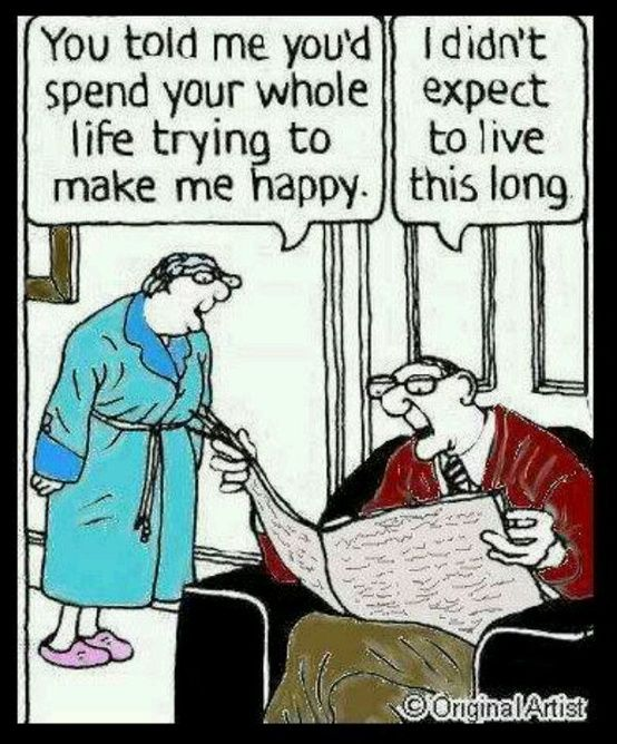 Make Me Happy Marriage Cartoon | Funny Joke Pictures