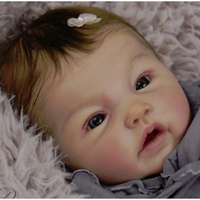 Adeline By Ping Lau New Reborn Baby Doll Kit @ 20""