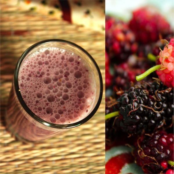 Vitamina de Amora | Receita