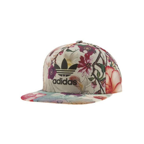 Adidas Multi Snapback Cap Confete Accessory ($36) ❤ liked on Polyvore featuring accessories, hats, multi, colorful hats, snapback hats, adidas, floral hat and adidas cap