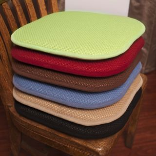 Memory Foam Chair Pad Set (Set Of 2)   Overstock™ Shopping   Great