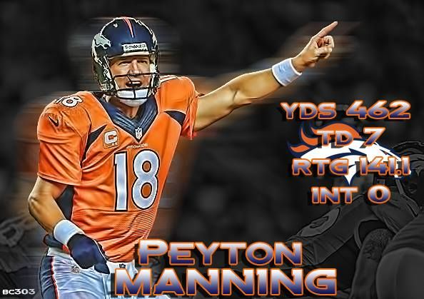 Peyton Manning...love both those Manning brothers!