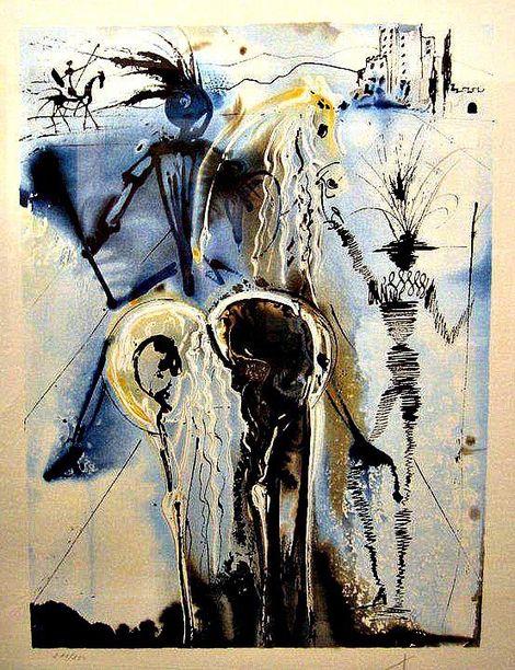 Salvador Dalí - Don Quijote