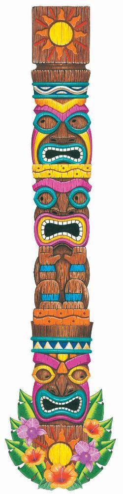 tiki island jointed cutout - Webhats.com