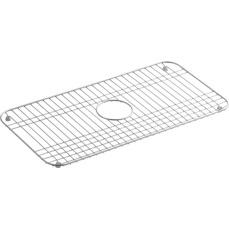 Kohler K-6517-ST Bakersfield Stainless Steel Basin Racks & Sink Grids Kitchen Accessories  | eFaucets.com