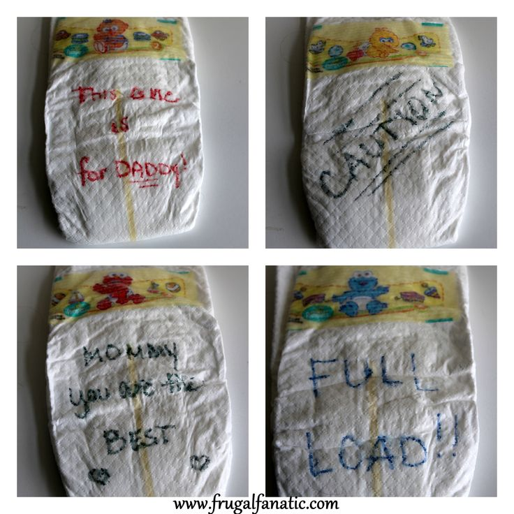Good Baby Shower Games With Diapers Part - 10: Baby Shower Games: Special Diaper Message