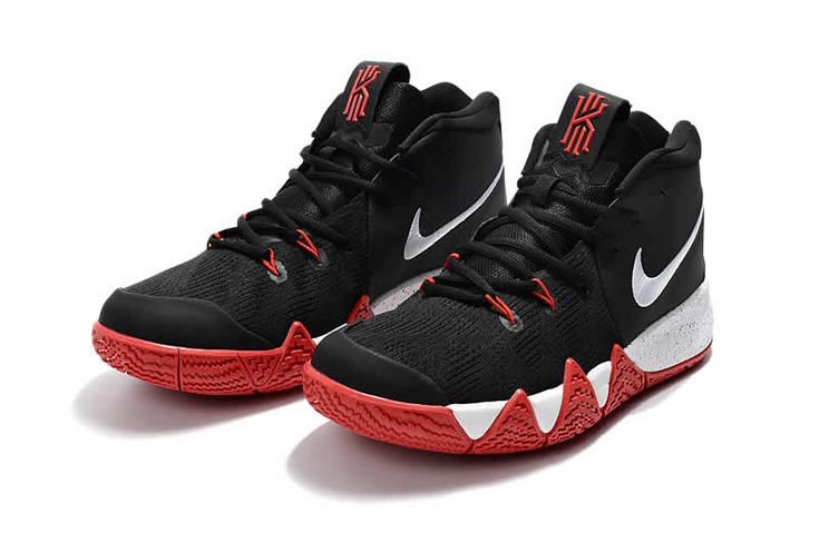 Wholesale nike kyrie 4 basketball shoes black white red
