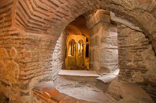 Crypt of Agios Dimitrios, Thessaloniki Greece
