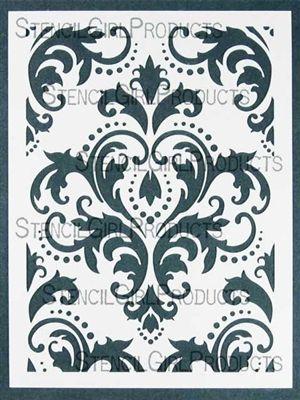 damask stencil $14