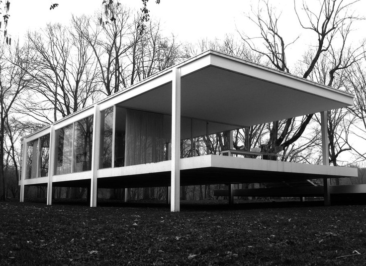 121 best images about farnsworth house on pinterest famous buildings architecture and houses. Black Bedroom Furniture Sets. Home Design Ideas