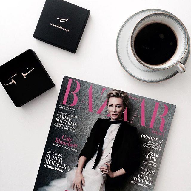 Afternoon coffee with @Harpersbazaarpolska ☕️ #afternooncoffee #afternoon #coffee #harpersba...