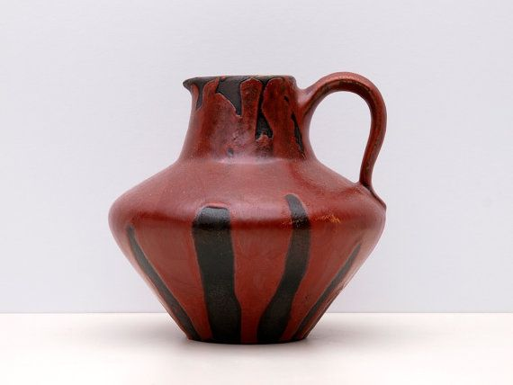Vintage West German Pottery Fat Lava WGP Ceramic by BetterLookBack