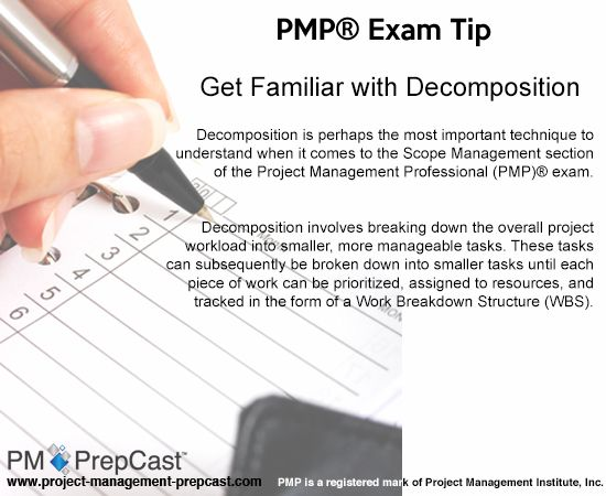 #PMP Exam Tip: Get Familiar with Decomposition