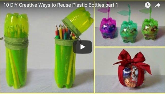 Plastikflaschen-basteln